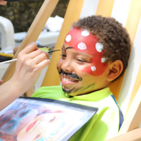maquillage enfants en pirate à Oullins